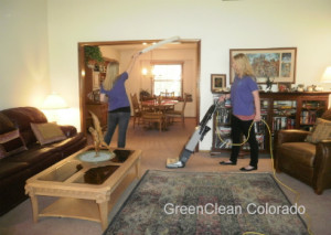 Living Room Safe, Eco Friendly Cleaning Services in Fort Collins Colorado by GreenClean Colorado